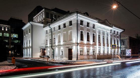 Архитектурная подсветка фасадов здания