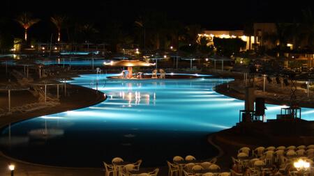 Подсветка фонтанов и бассейнов